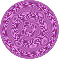 mandala optical illusion