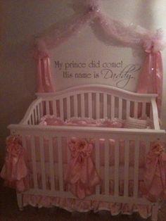 For a baby girl's nursery :)