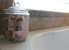 fresh homemade soap love!