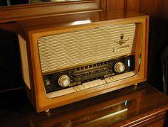 Grundig Radio, 1950s, Germany