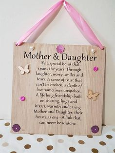 Check out this item in my Etsy shop https://www.etsy.com/uk/listing/557318672/mother-and-daughter-mothers-day-gift