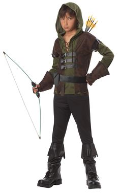 renaissance costumes for toddlers | Home >> Robin Hood Costumes >> Renaissance Robin Hood Kids Costume