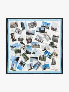 carré de soie Paris | agnès b. Paris, Square Scarf, French Style, Your Style, Finding Yourself, Photo Wall, Polaroid Film, Frame, Gifts