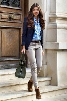 34 Affordable Casual Work Outfits for Women in This Season - Kleidung ideen Stylish Work Outfits, Winter Outfits For Work, Business Casual Outfits, Professional Outfits, Office Outfits, Work Casual, Spring Outfits, Casual Office, Stylish Office