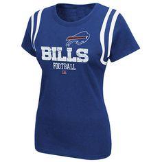 NFL - Buffalo Bills Women's Royal Critical Call T-Shirt