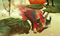 Chinese Painting, Japanese Art, Laos, Fan Art, Artist, Anime, Image, March 3rd, Third