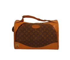 83422d03754 Louis Vuitton Luggage Vintage 1980s Suit Case Dog Bag Carrier