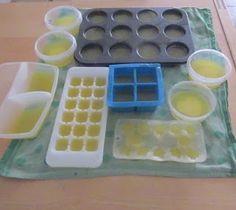 zeep maken met zeepvlokken