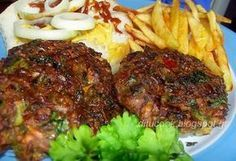 Γευστικές απολαύσεις από σπίτι: Μπιφτέκια λαχανικών Greek Recipes, Different Recipes, Meatloaf, Vegan Vegetarian, Steak, Dinner Recipes, Pork, Beef, Vegetables