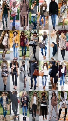 28 Great Fall Outfits On The Street 2015 Winter Fashion Casual, Fall Winter Outfits, Casual Fall, Autumn Winter Fashion, Autumn Style, Leggings Outfit Fall, Legging Outfits, Casual Outfits, Cute Outfits