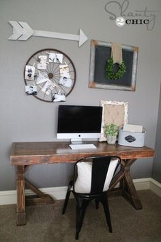 These free and easy, step-by-step plans will show you exactly how to build a tresle desk inspired by Restoration Hardware for under $75.