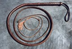 Aussie Bullwhip - Kangaroo Hide. I need this because.... It's just awesome. Going bullwhip hunting- gonna whip some bunnies.