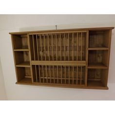 Pine 28 plate rack. W114cm. Made in Somerset by Jeremy Hill Furnishings. jeremyhillfurnishings.co.uk