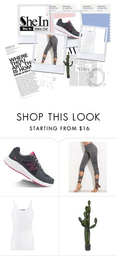 """jhdkuszfk"" by melisa-484 ❤ liked on Polyvore featuring New Balance and Vince"