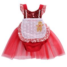 d8a5ae6fe37 Peppermint Baby Girl s Christmas Tutu Dress Candy Cane Photo Prop Baby  Shower Gift Girl Clothes Holiday Toddler Fashions Dresses Apron