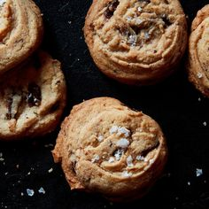 Danielle Oron's Salted Tahini Chocolate Chip Cookies Recipe on Food52 recipe on Food52