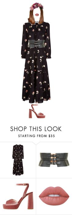 """""""MinYoung _ Sky"""" by xxeucliffexx ❤ liked on Polyvore featuring Ulla Johnson, BCBGMAXAZRIA, MANGO, GET LOST, Lime Crime, capricorn and minyoung"""