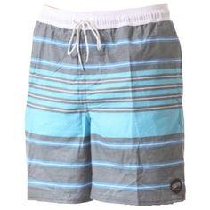 Badehose mit Streifen ab 54,95 € Hier kaufen: http://www.stylefru.it/s834716 #gestreift #shorts #billabong