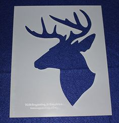 Momenta 27137 N//A Stencil 7-Inch X11-Inch-Moose and Bear