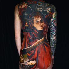 Nikko Hurtado Tattoo on Megan Jean Morris