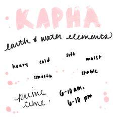Ayurveda Journal, Week 1: Exploring The Senses  I am such a Kapha...