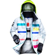W MOSS JACKET Based on our popular and proven design of the Salt Jacket, this bold and modern design features the Helly Hansen Marine Stripe.Double click to zoom in