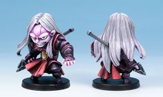 Tyrek's miniature painted by Guillaume 'Yaum' Juneau.