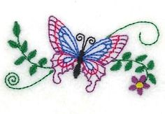 Butterfly Small - 4xz4 | What's New | Machine Embroidery Designs | SWAKembroidery.com Starbird Stock Designs