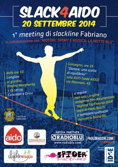 SLACK 4 AIDO - Poster promo - Event #Fabriano 2014