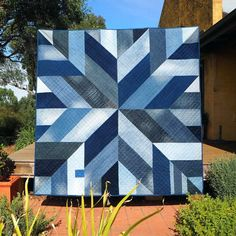 Blue Giant denim quilt pattern from upcycled jeans | Denim quilt ... : denim quilt patterns for beginners - Adamdwight.com
