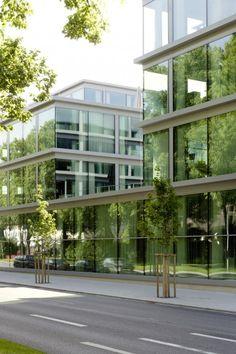 Oficinas de Schwäbisch Media by Wiel Arets Architects (Karlstraße 16 D-88212 Ravensburg, Alemania) #architecture