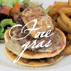 53 - Foie Gras Bloc de foie gras poêlé - steak haché frais - confit d'oignons - sauce forestière