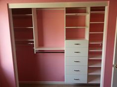 Quick n Easy Closets - Great for a child's closet. http://www.closet-doctor.com/closets/quick-n-easy/closet-organizer-gallery