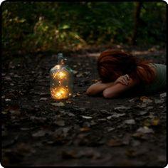 catching fireflies…