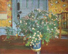 .:. Harold Gilman - Interior with Flowers
