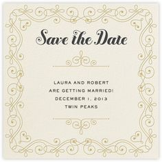Cream Puff - Save the Date - Paperless Post