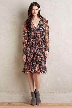 Apulia Pleated Dress - #anthrofave