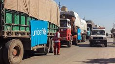 """""""Bereit zur Wiederaufnahme"""": UN schickt neue Hilfskonvois nach Syrien"""