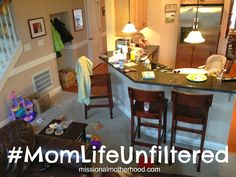 """This post is a challenge to all of us as we strive to end the """"mommy wars"""" and begin living #MomLifeUnfiltered! Read along as Lindsey shares some of her own unfiltered mommy moments and be encouraged to join in on the fun! (missionalmotherhood.com)"""