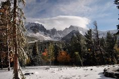 Great Basin National Park in Nevada is a winter wonderland.
