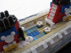 Lego Disney Cruise Ship Goofy Pool