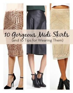 10 Gorgeous Midi Skirts (and 10 Tips for Wearing Them)