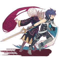 Chrom and Robin.