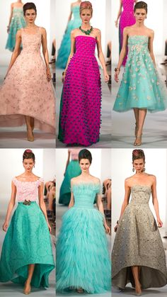Oscar de la Renta Spring 2013 Collection | Tom & Lorenzo