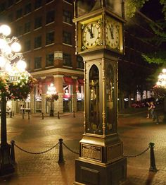 Gastown Vancouver,Canada - Vancouver Steam Clock