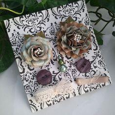 Handmade Flower Embellishment Set