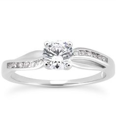 Wavy-Moijey Petite Collection Engagement Ring | Moijey Fine Jewelry and Diamonds