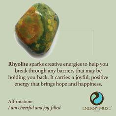 Rhyolite aka Rainforest Jasper