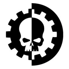 Warhammer 40k Adeptus Mechanicus Die Cut Vinyl Decal PV2056