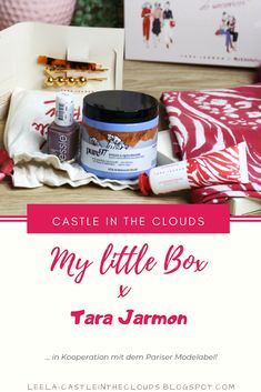 Die My little Box enthält jeden Monat 3 verschiedene Beautyprodukte und 2 Accessoires. Diesen Monat in Zusammenarbeit mit dem Pariser Modelabel Tara Jarmon.